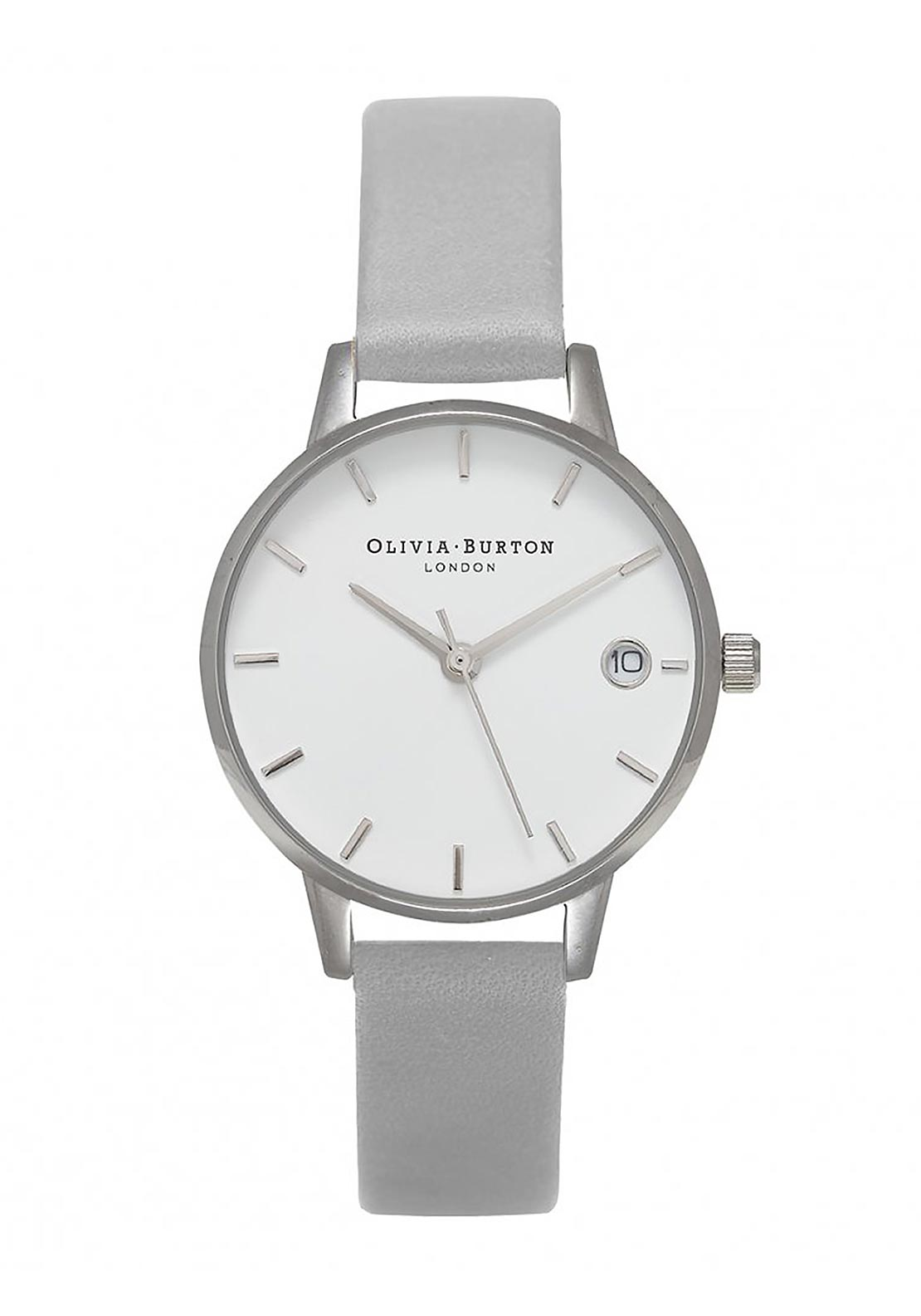 Olivia Burton The Dandy Watch, Grey & Silver