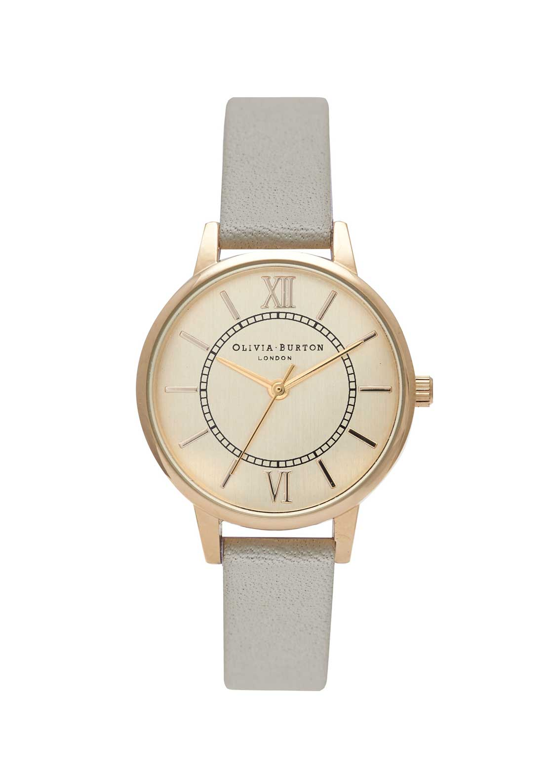 Olivia Burton Wonderland Watch in Grey, Gold