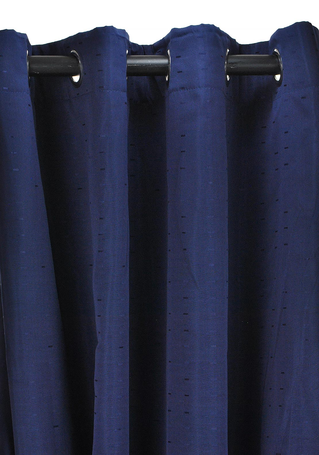 Wilton Collection Miami Readymade Eyelet Curtains, Navy 269 x 229cm