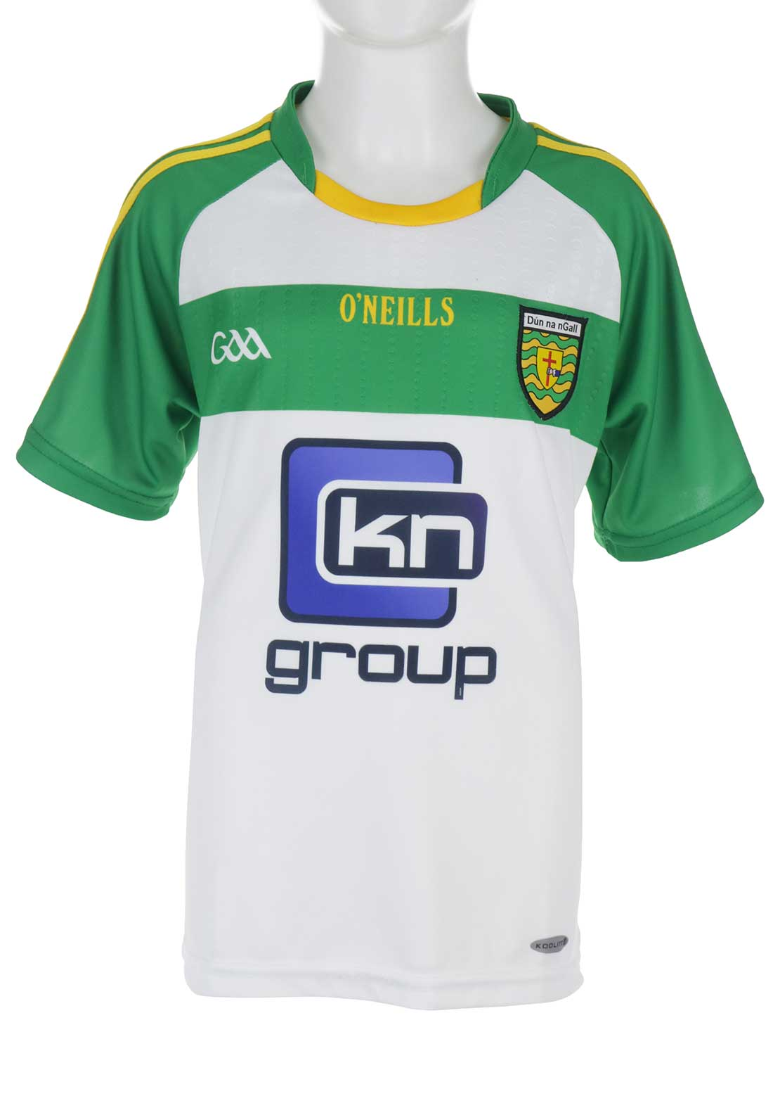 O'Neill's Donegal GAA Kids Home Jersey, White