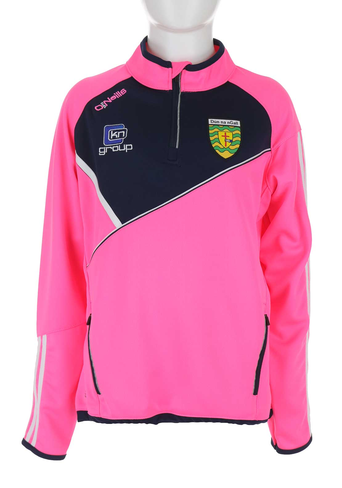 O'Neill's Donegal GAA Girls Conall Squad Top, Pink