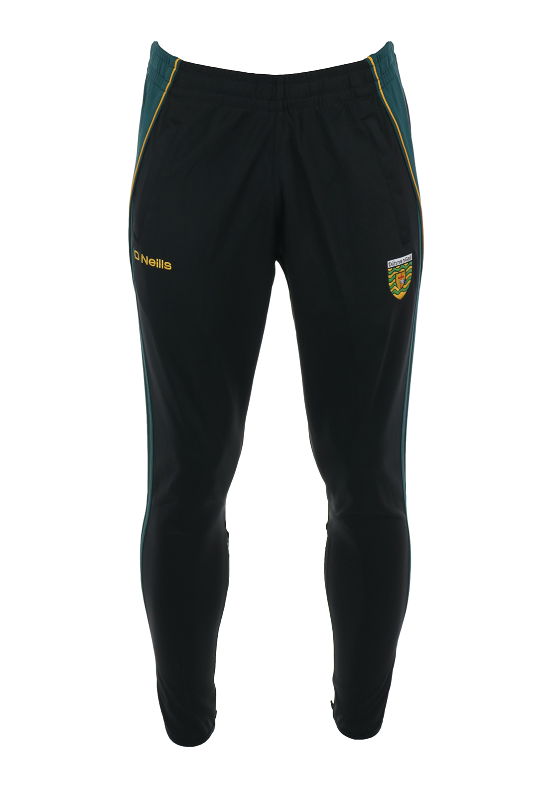 O'Neills Donegal GAA Kids Conall Training Bottoms, Black