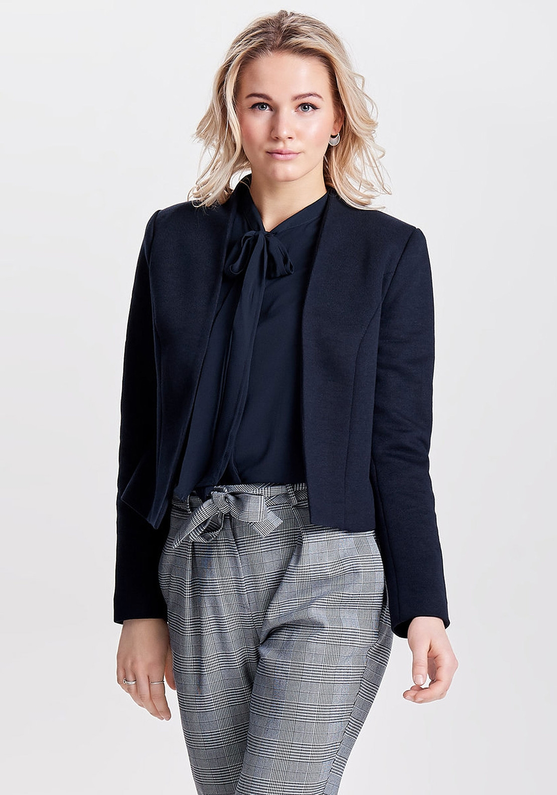 Only Donna Knit Blazer, Navy