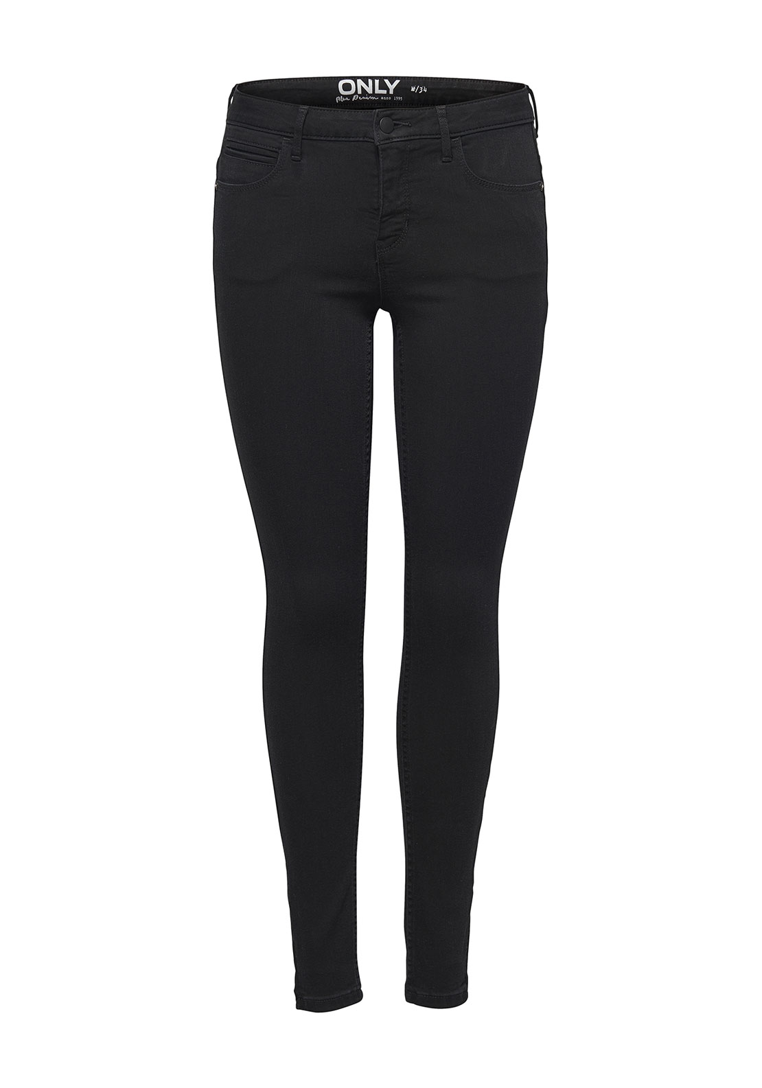Only Kendall Eternal Skinny Jeans, Black
