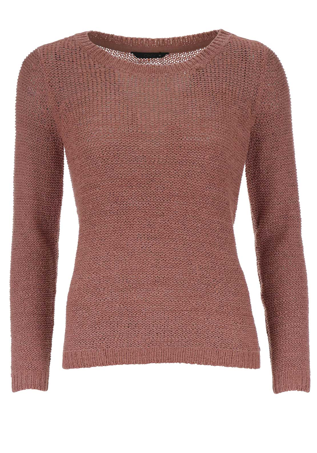 Only Geena Knitted Pullover Jumper, Rose