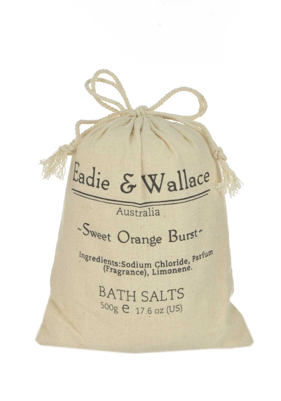 Eadie & Wallace Indulgent Bath Salts, Sweet Orange Burst