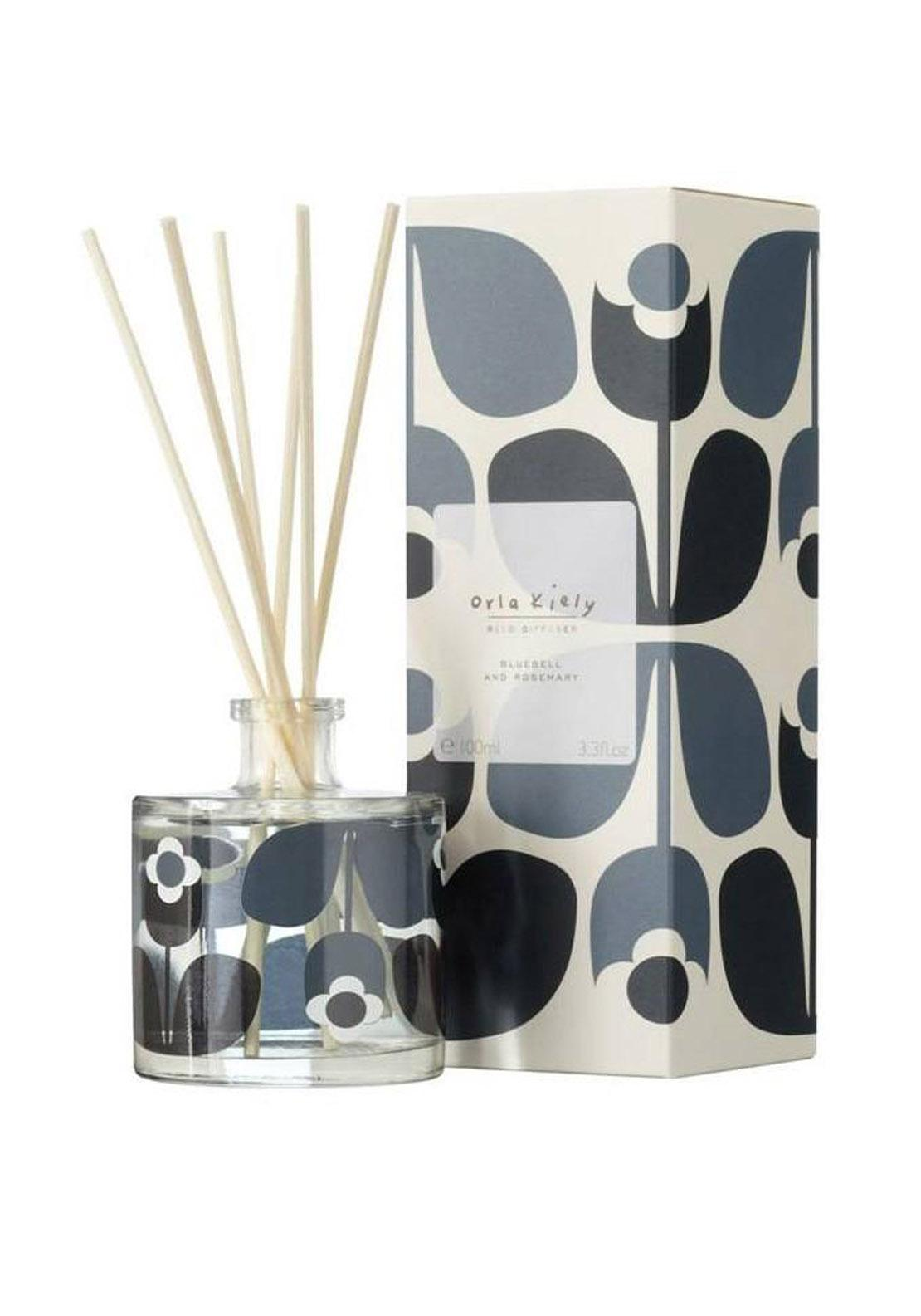 Orla Kiely Diffuser, Bluebell and Rosemary