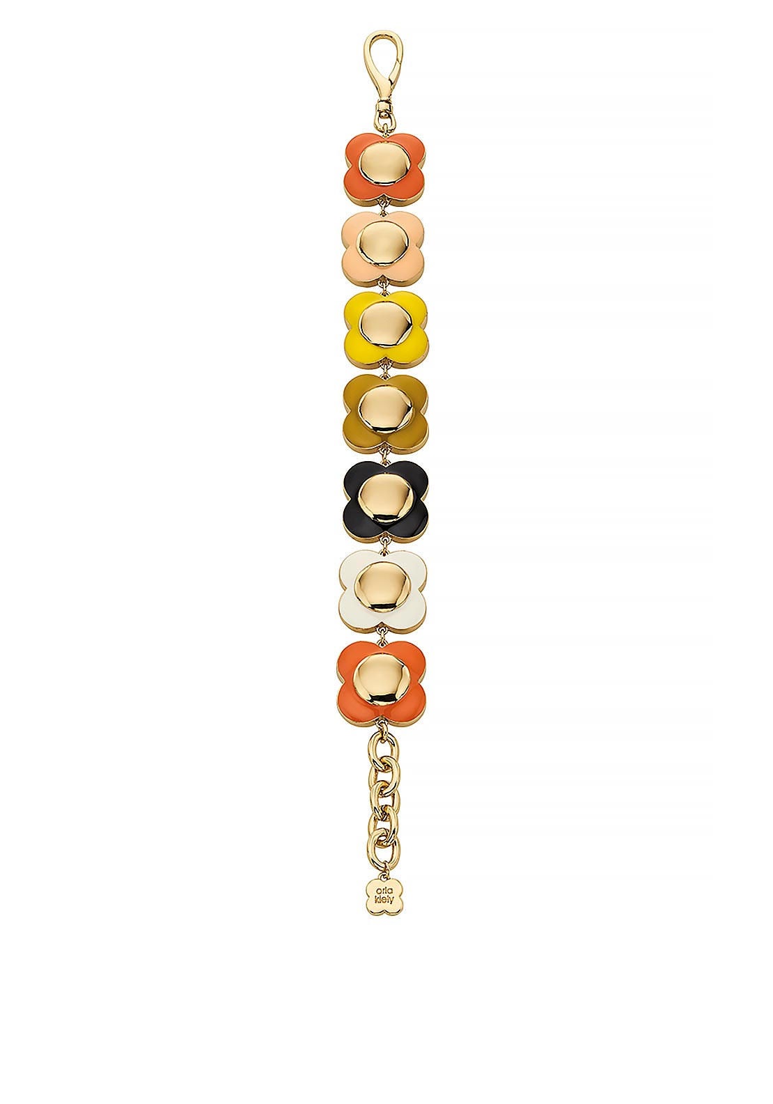 Orla Kiely Daisy Chain Flower Bracelet, Multi-Coloured