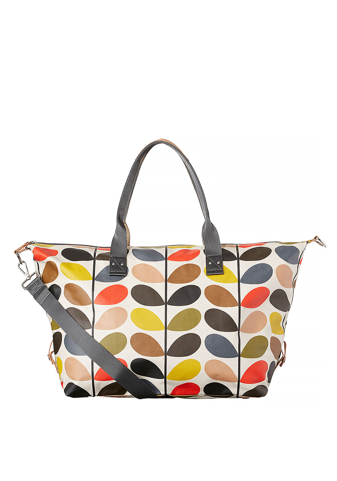 Orla Kiely Multi Stem Zip Holdall Bag, Multi