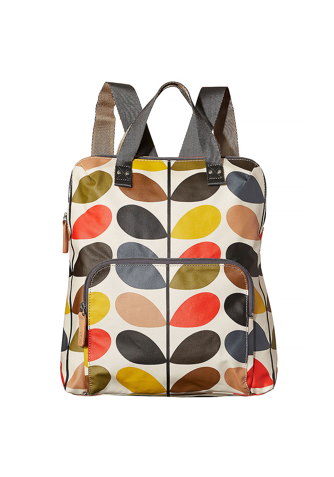 Orla Kiely Multi Stem Backpack, Multi-Coloured