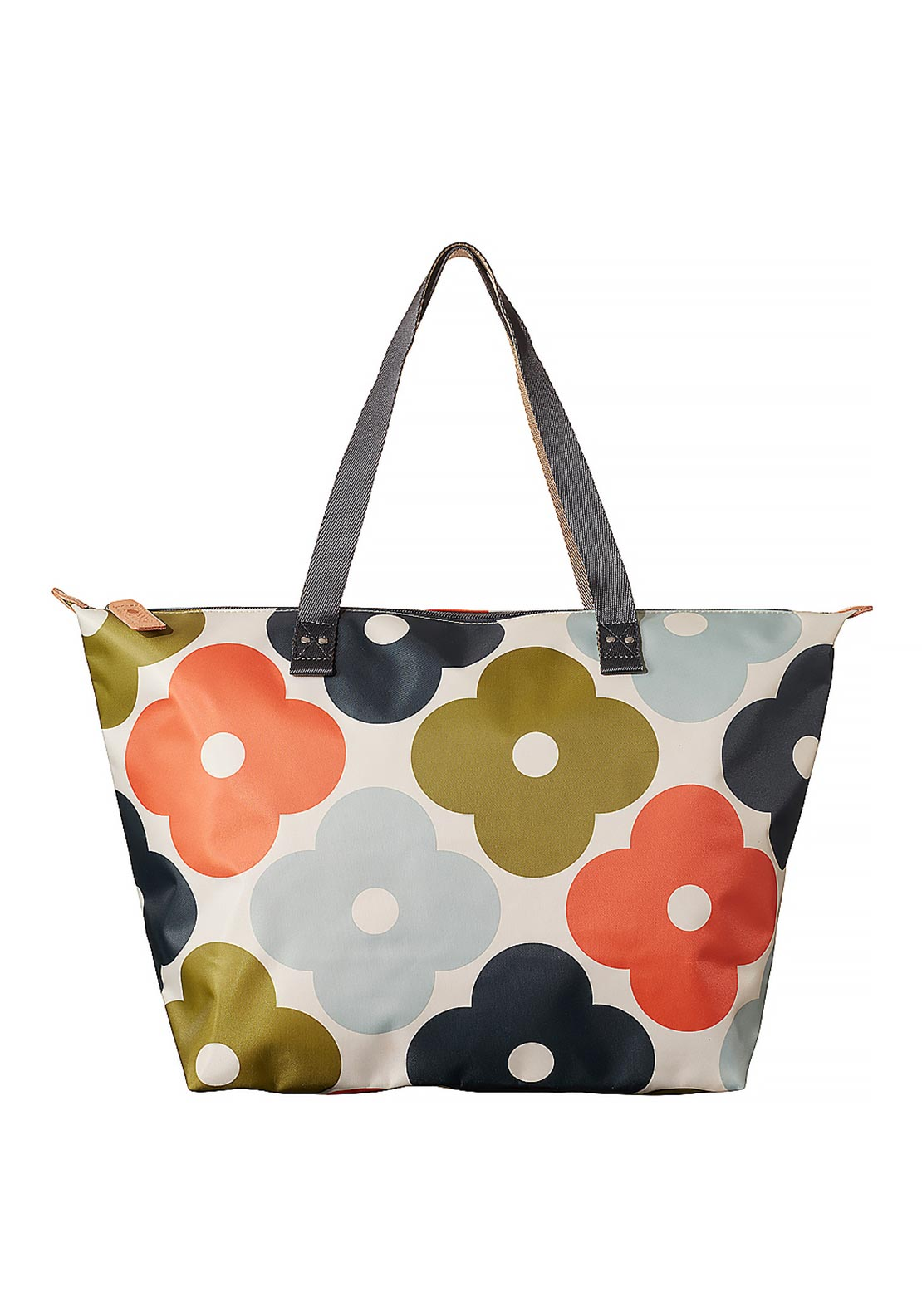Orla Kiely Giant Flower Spot Print Shopper Bag, Multi coloured