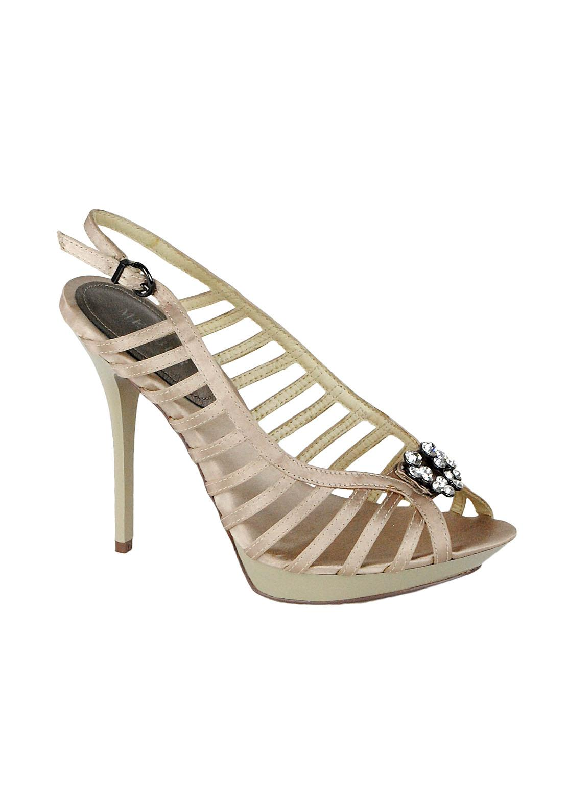 Menbur Ballard High Heel Sandals, Gold