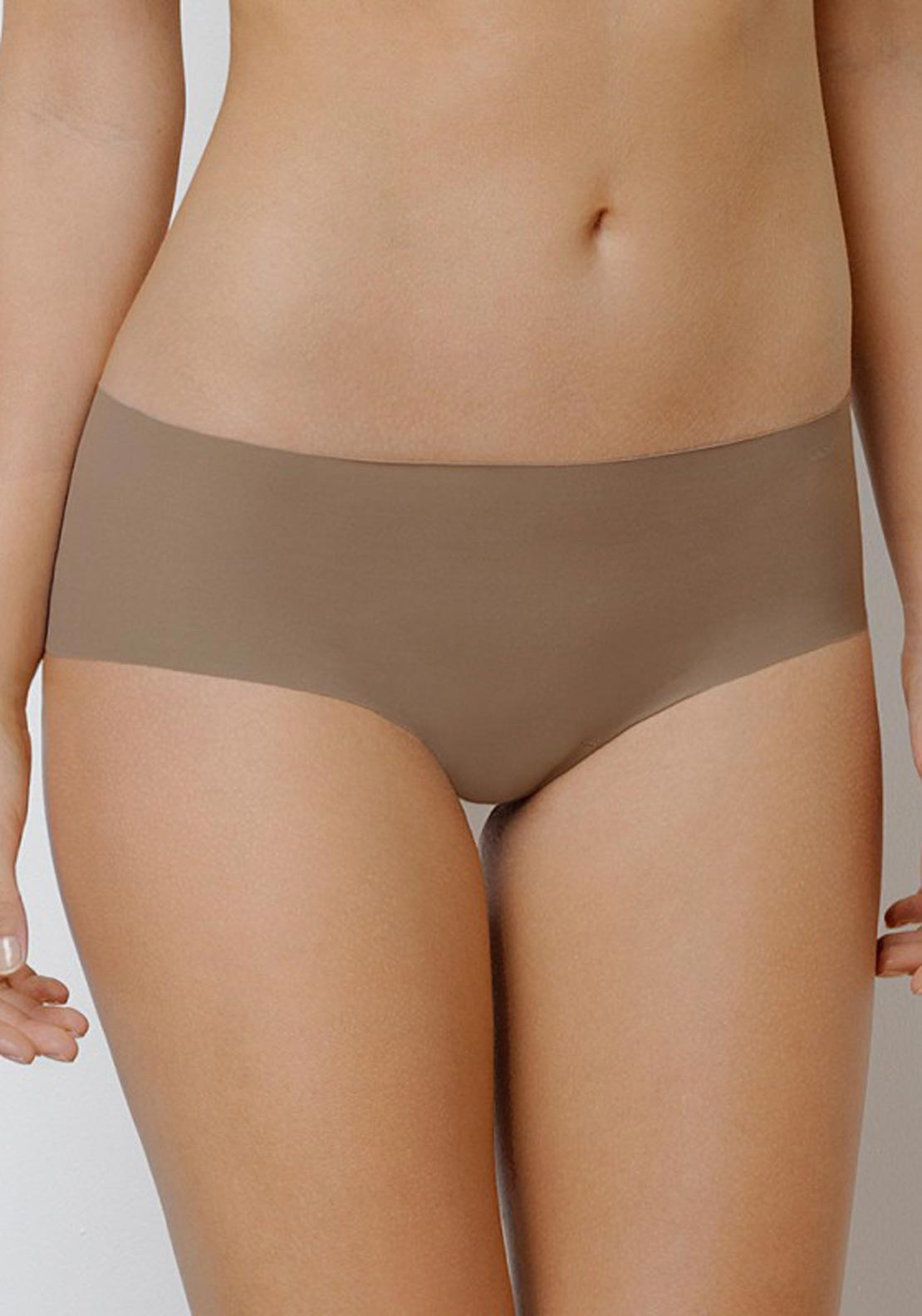 Vanity Fair Shorty Briefs, Brown