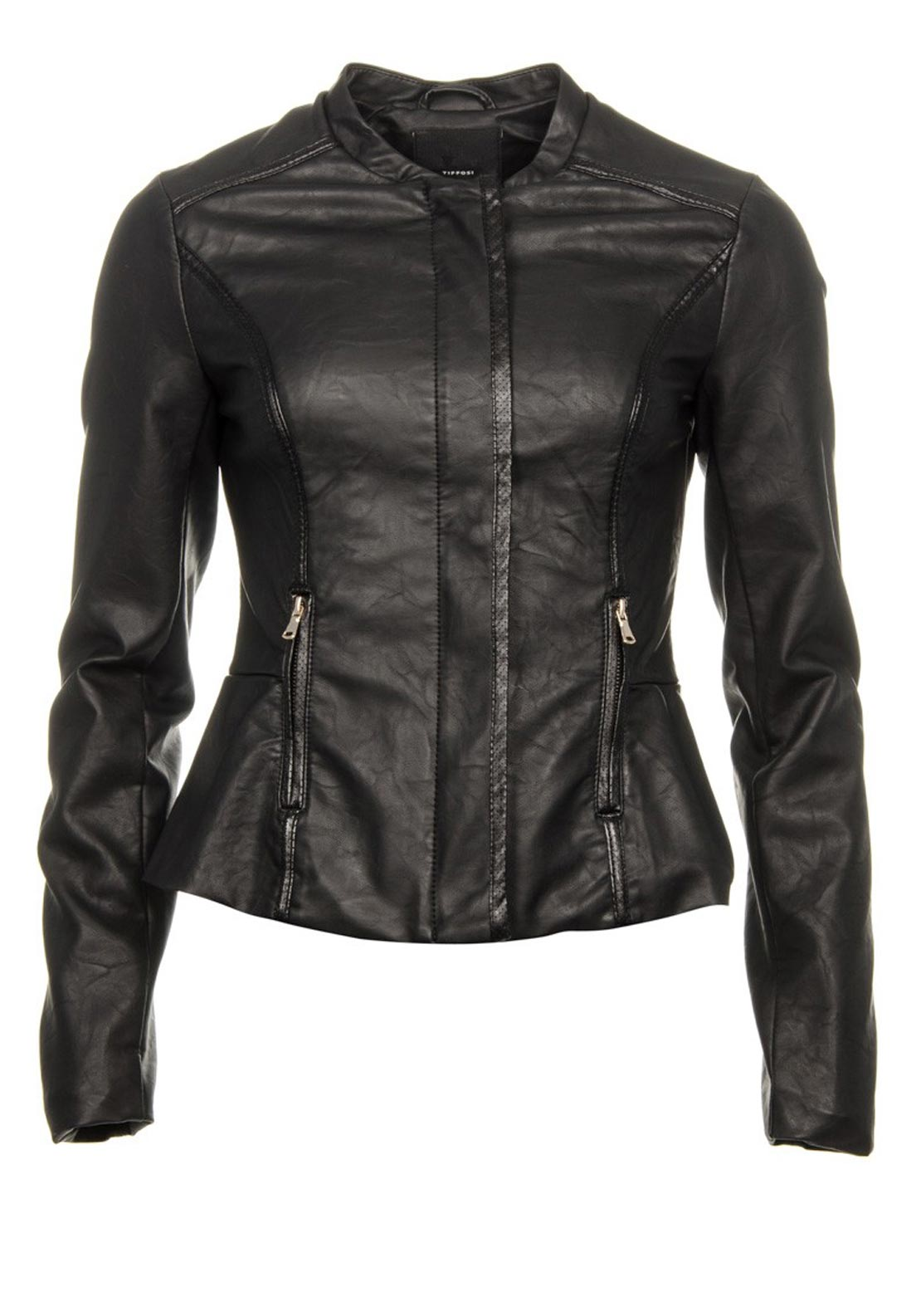 Tiffosi Pleather Jacket, Black