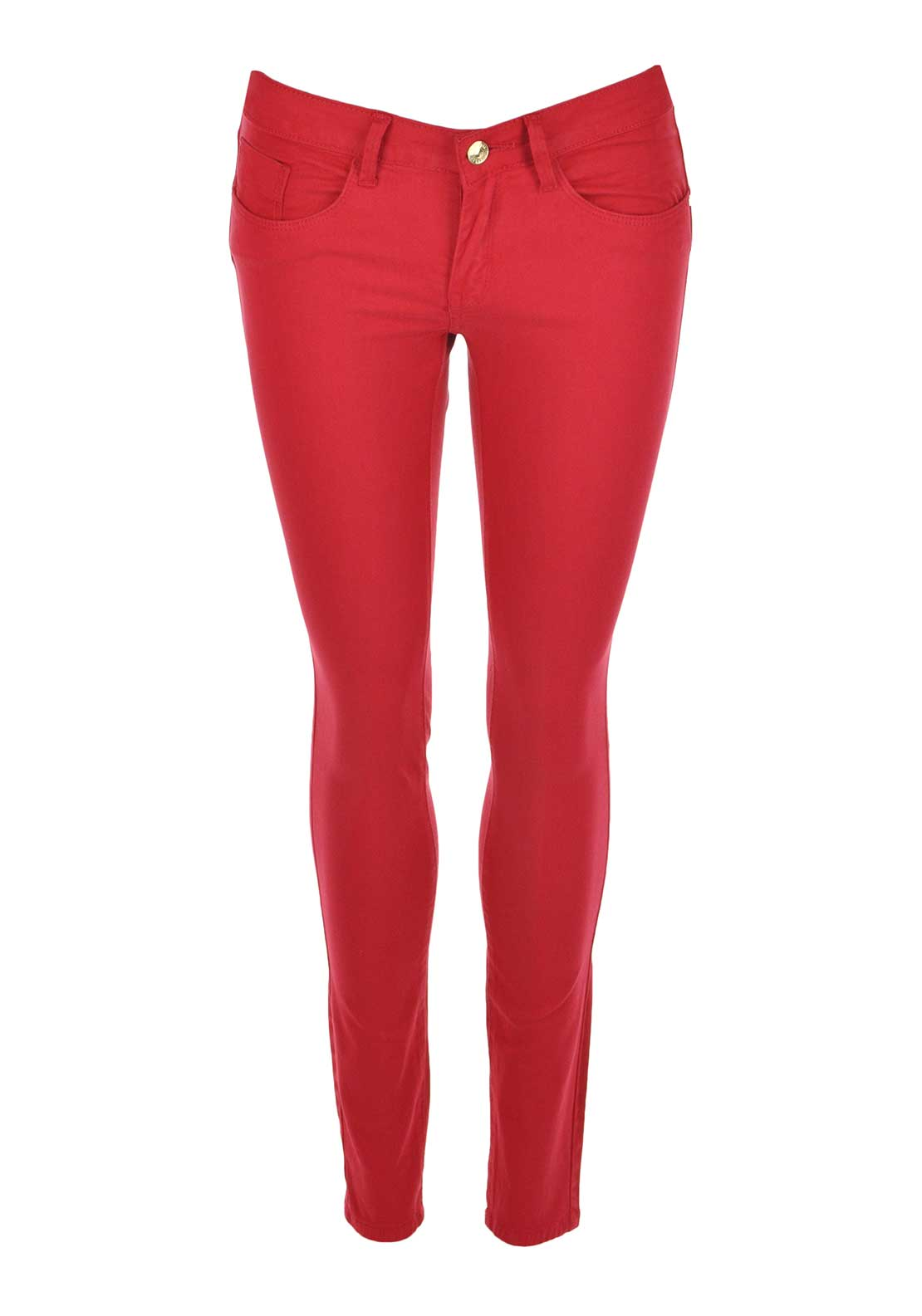 Tiffosi Womens Blake Skinny Jeggings, Red
