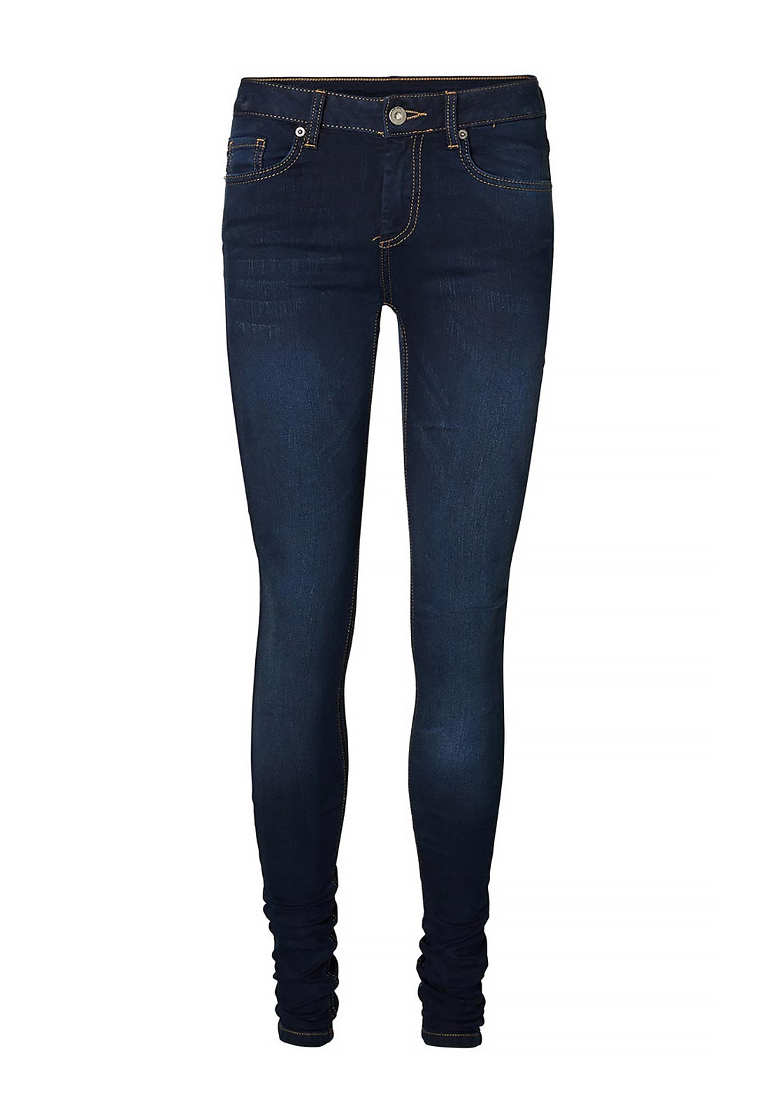 Vero Moda Super Fix Skinny Jeans, Dark Blue Denim