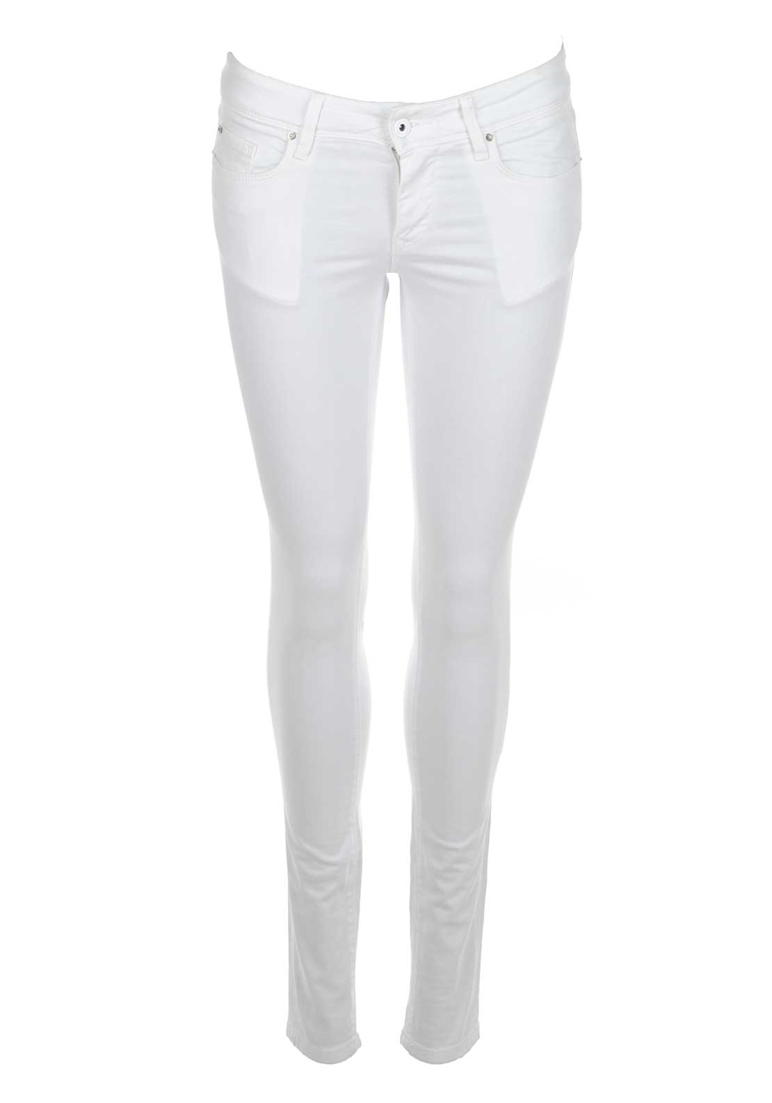 Salsa Secret Colette Super Skinny Jeans, White