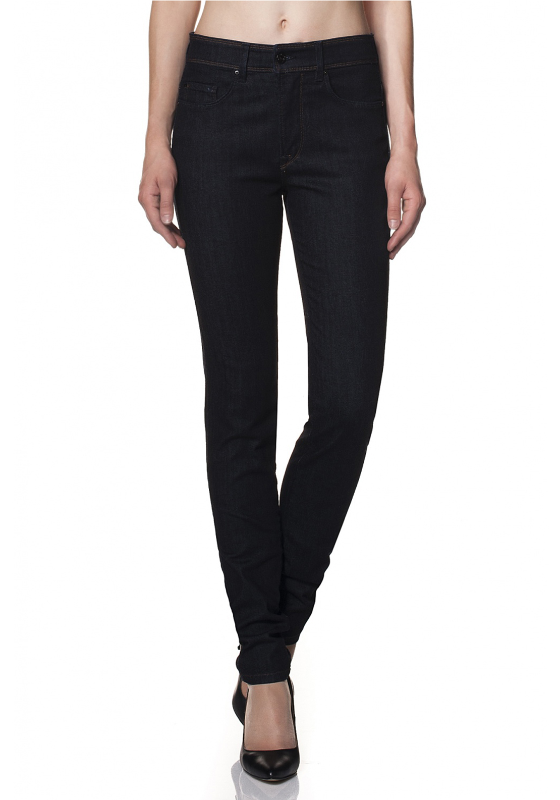 Salsa Carrie Skinny Push In Jeans, Dark Navy Denim