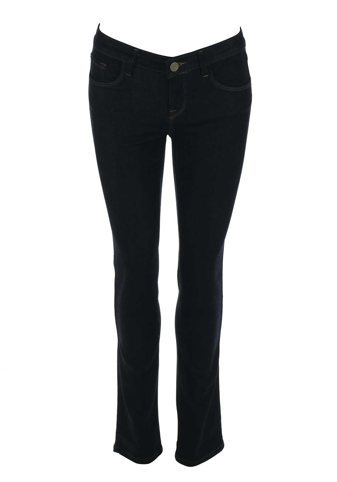 Mos Mosh Athena Straight Leg Jeans, Dark Blue Denim