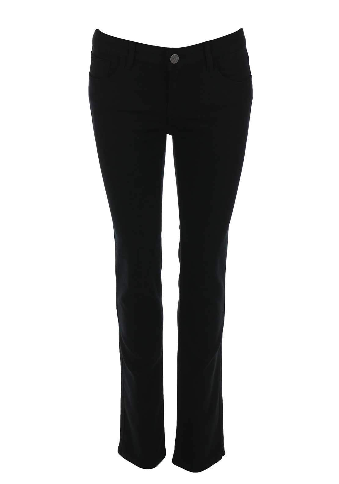 Mos Mosh Athena Regular Slim Leg Jeans, Black