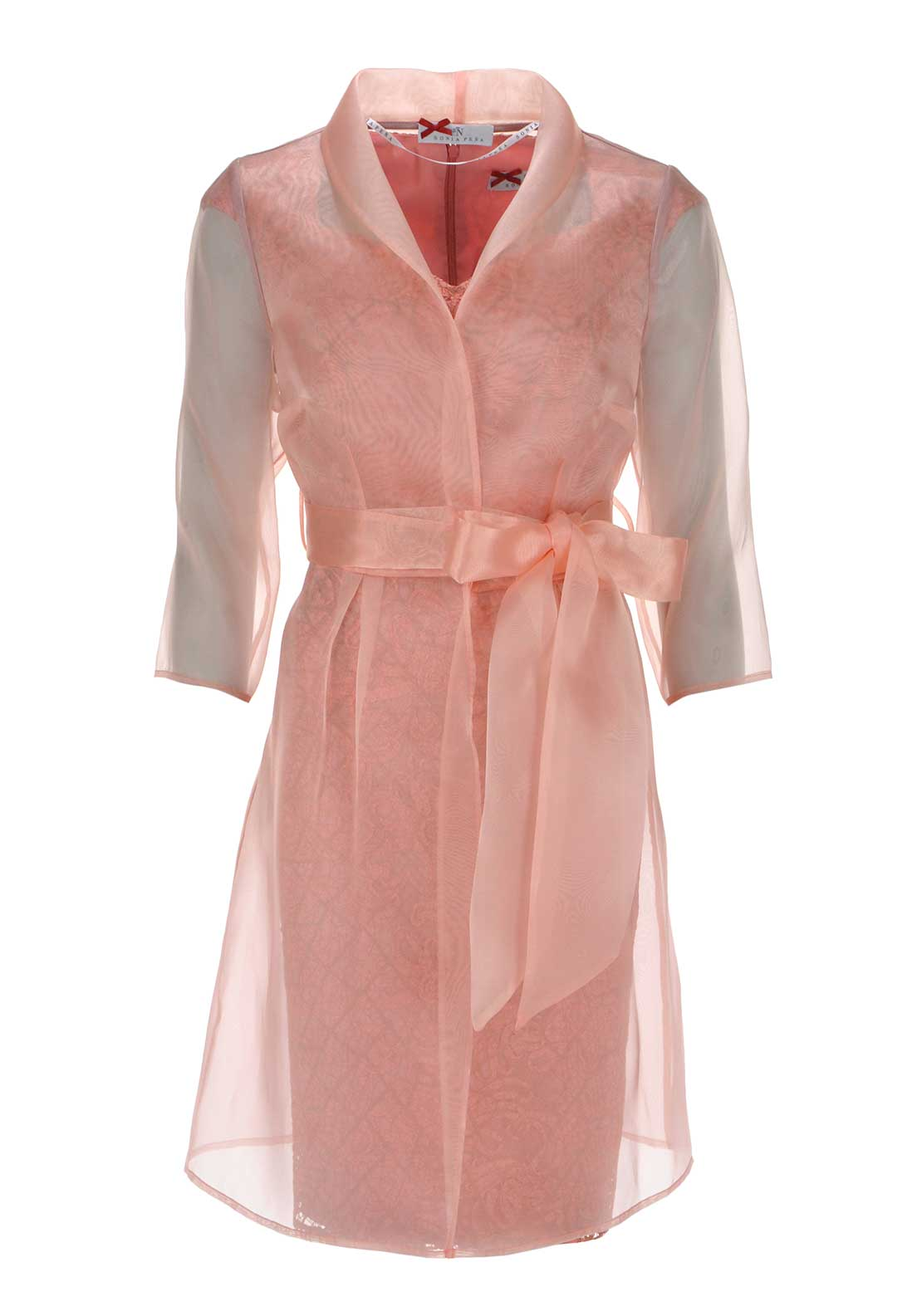 Sonia Pena Dress and Coat Salmon