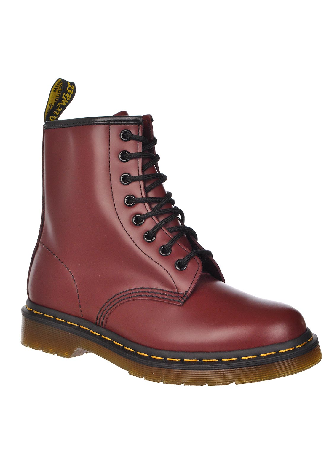 Dr. Martens AirWair Women's 1460 Leather Boots, Cherry Red
