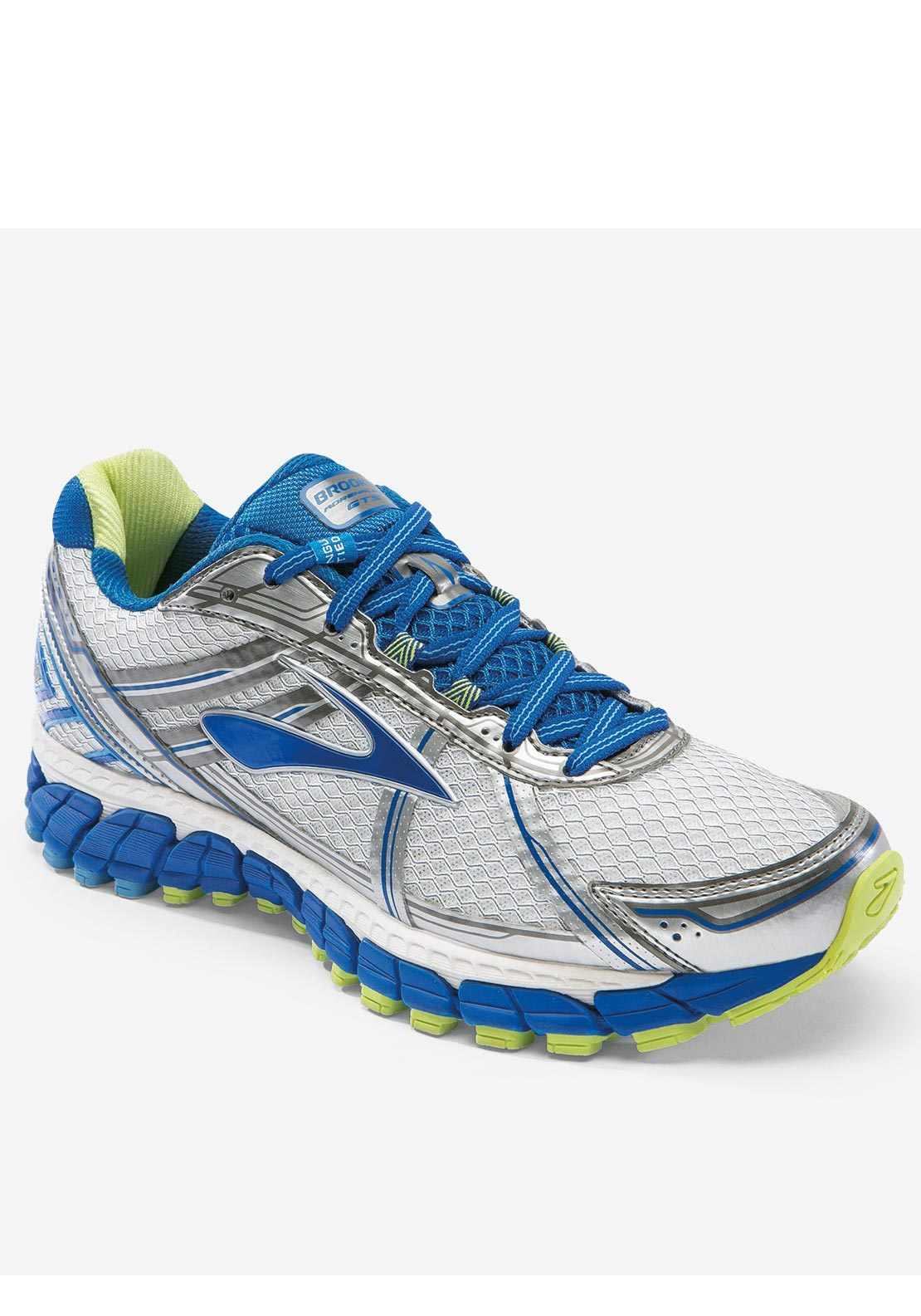Brooks Womens Adrenaline GTS 15 Runner, Silver