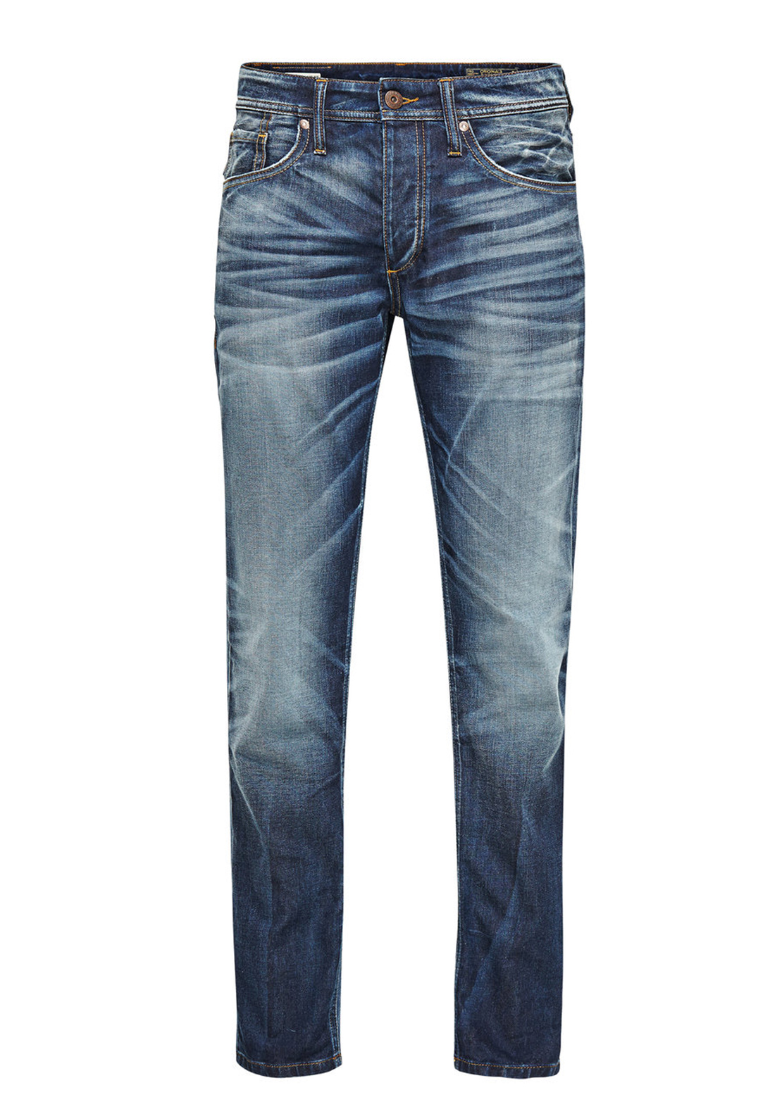Jack & Jones Mike Comfort Fit Jeans, Blue Denim