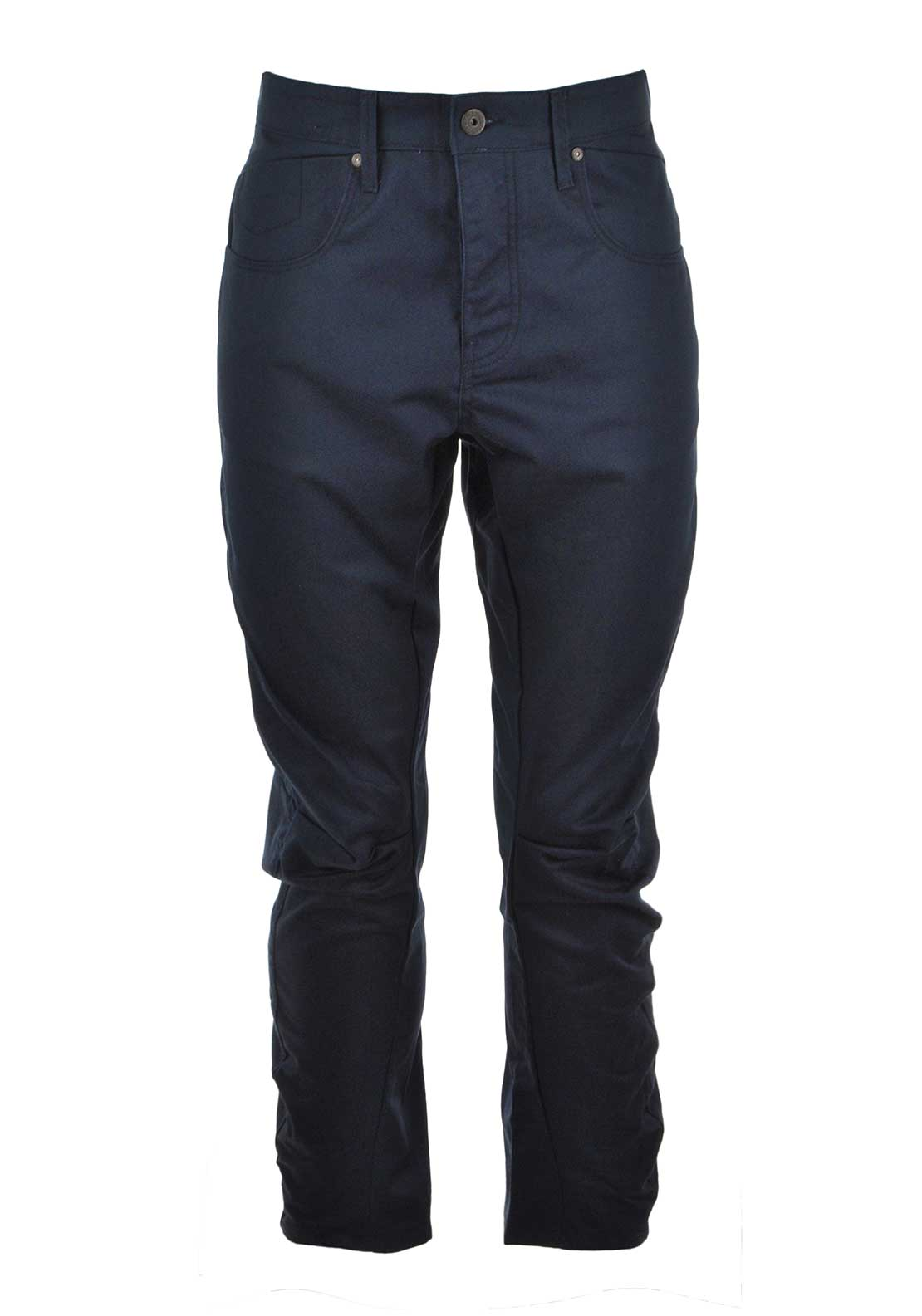 Jack & Jones Mens Stan Lester Anti-Fit Chinos, Navy
