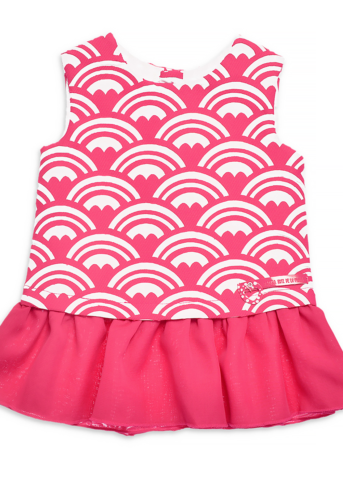 Agatha Ruiz De La Prada Rainbow Heart Dress, Pink