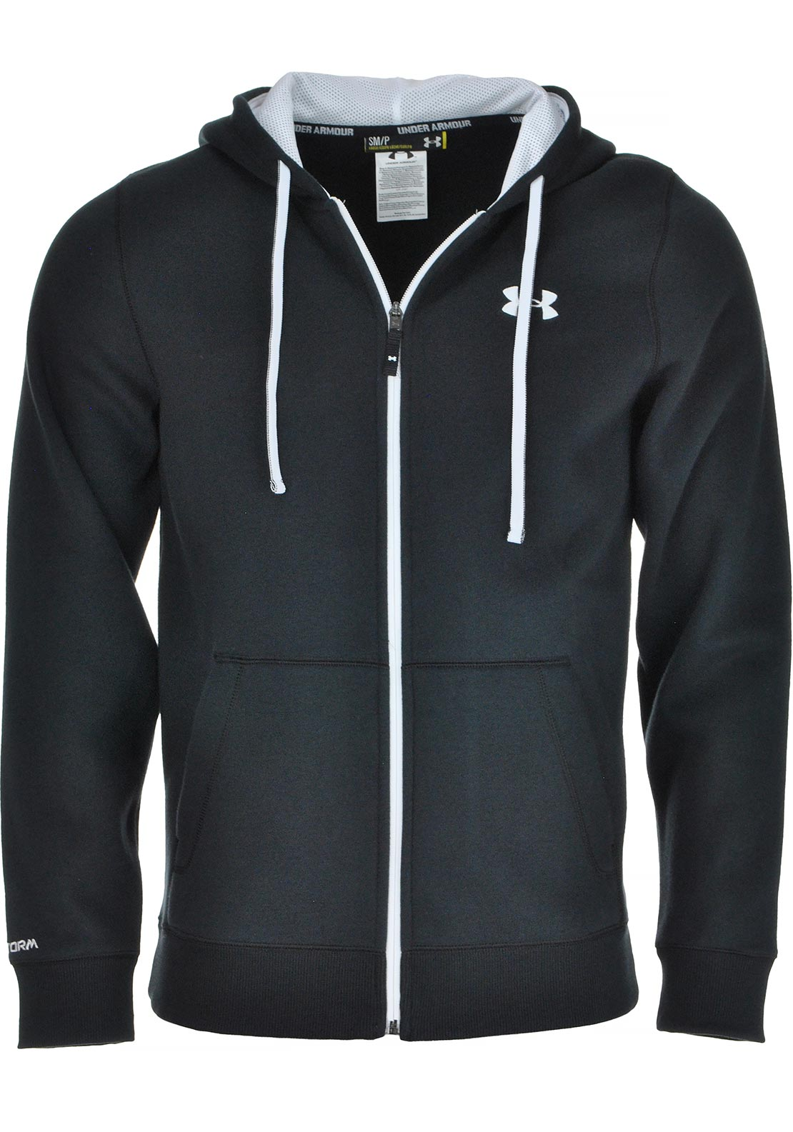 Under Armour Mens Storm Full Zip Hoodie, Black