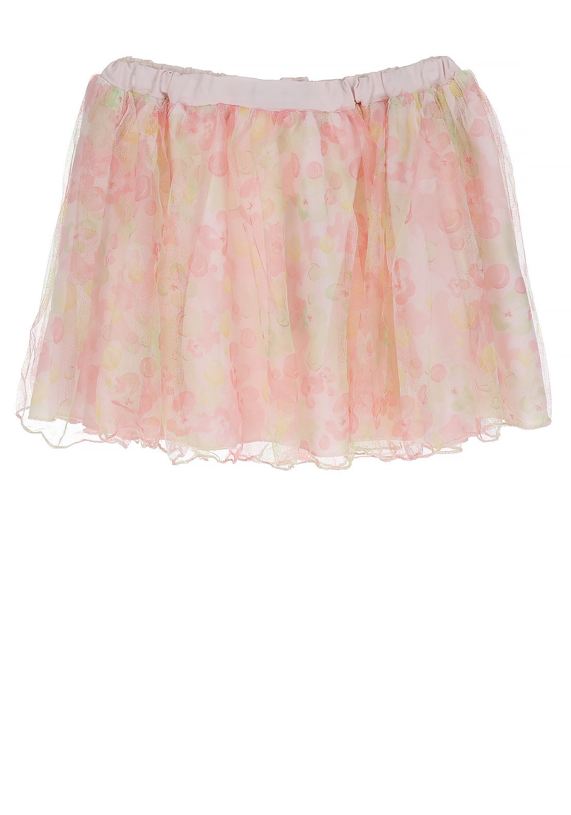 Name It Girls Figaro Tulle Skirt, Pearl Pink
