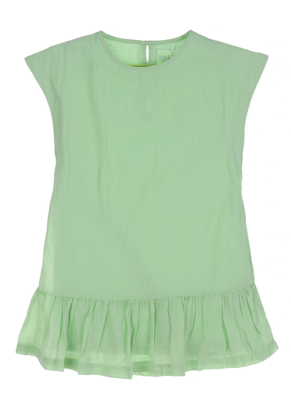 Name It Girls Hanne Tunic Dress, Pastel Green