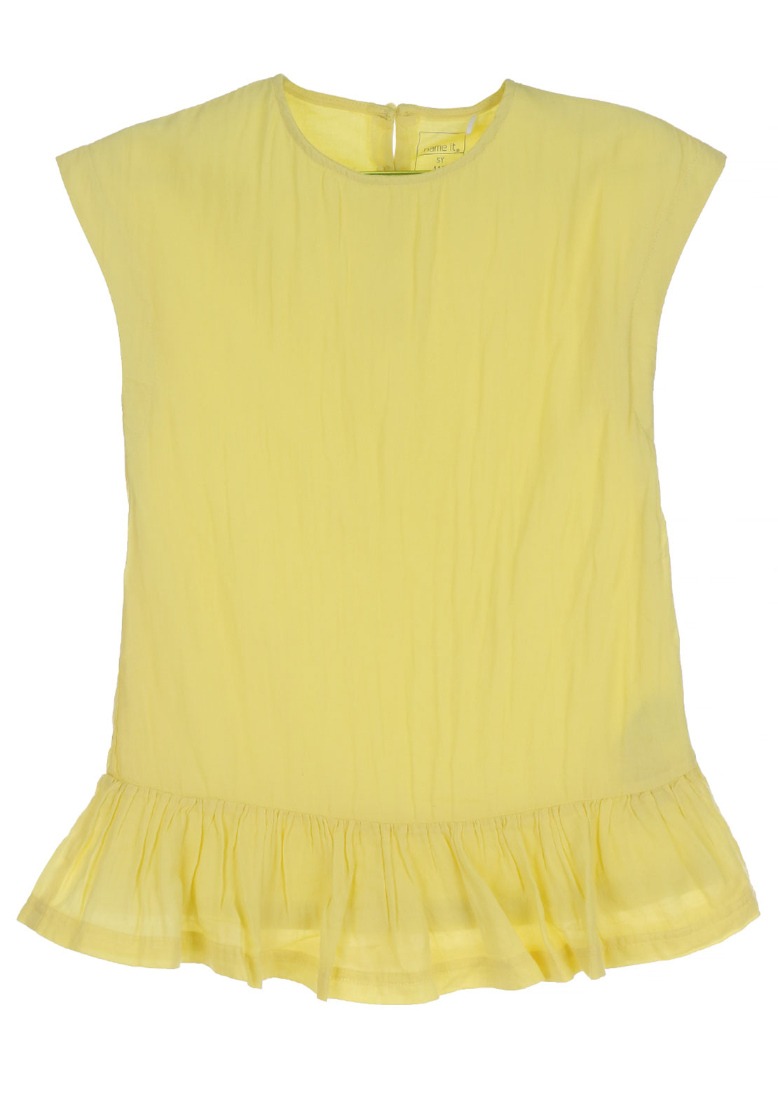 Name It Girls Hanne Tunic Dress, Popcorn Yellow