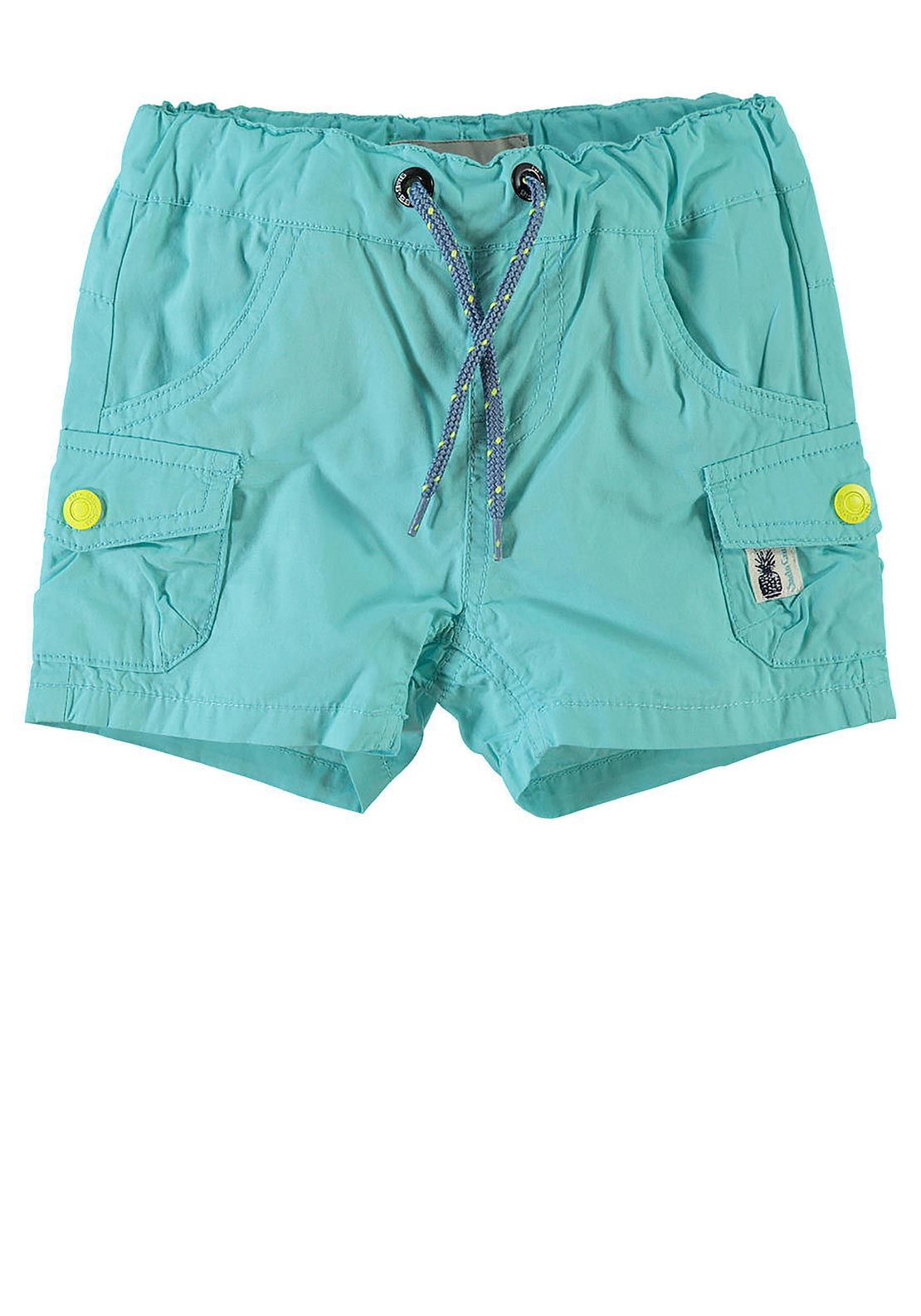 Name It Mini Boys Lon Shorts, Blue Radiance