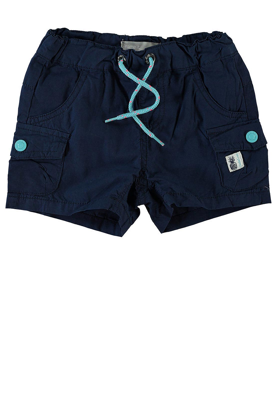 Name It Mini Boys Lon Shorts, Dress Blues