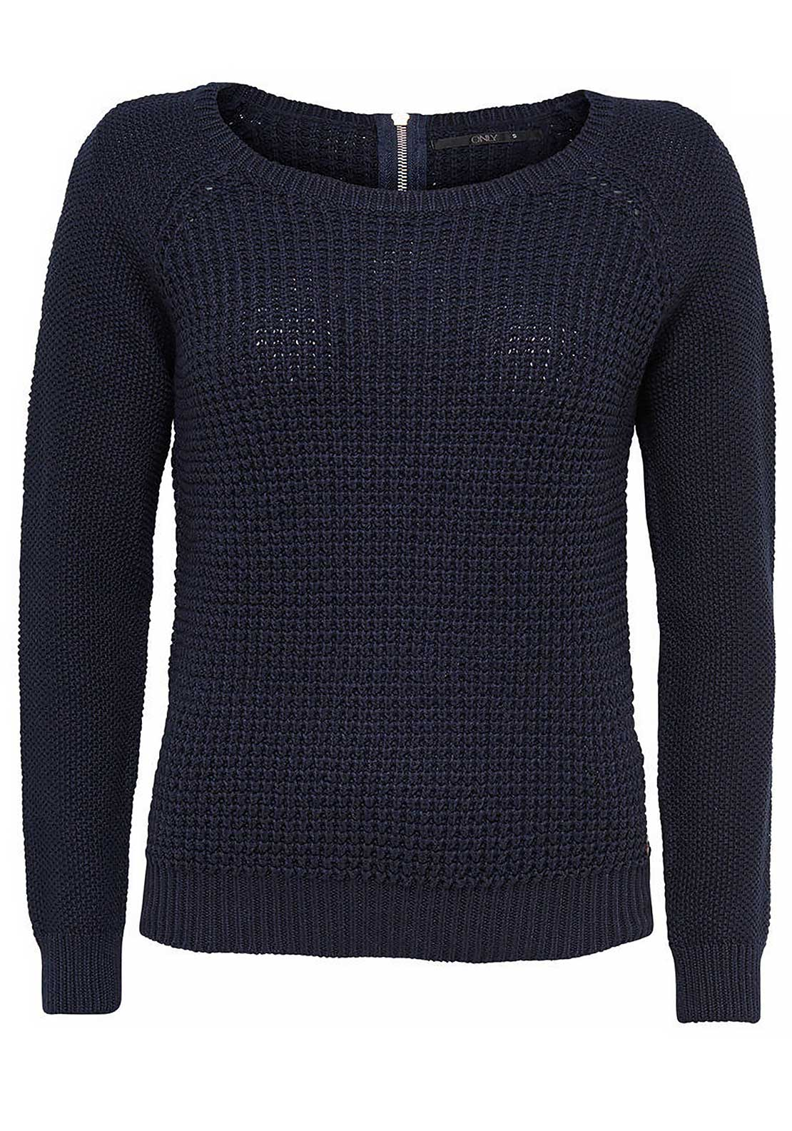 Only Ginalu Knitted Pullover Jumper, Night Sky