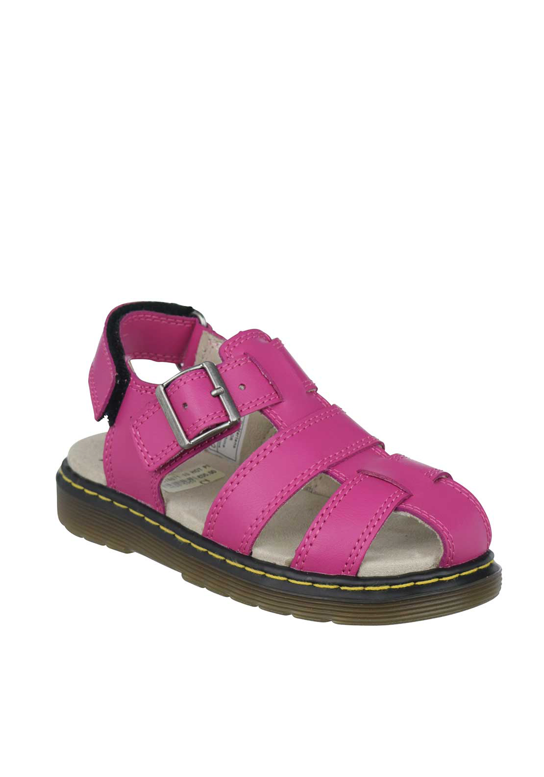 Dr. Martens Girls Sailor Leather Sandals, Pink
