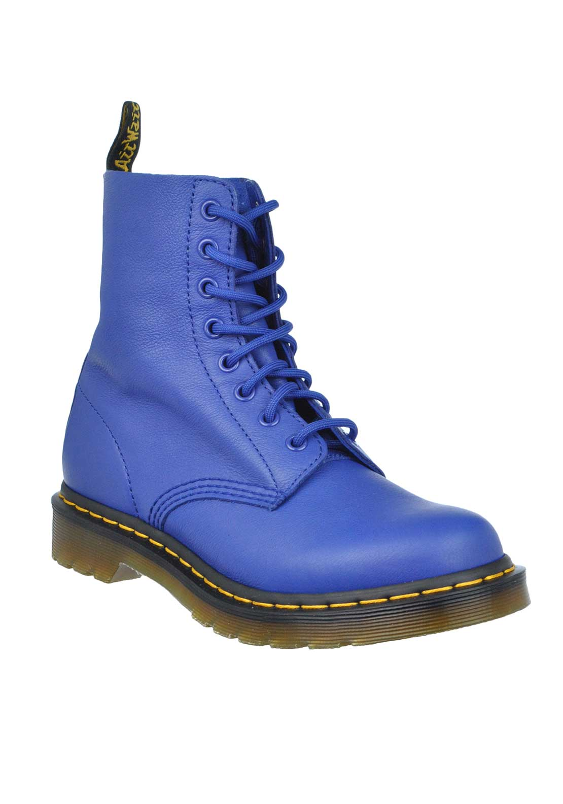 Dr. Martens Womens Airwair Pascal Leather Boot, Blue