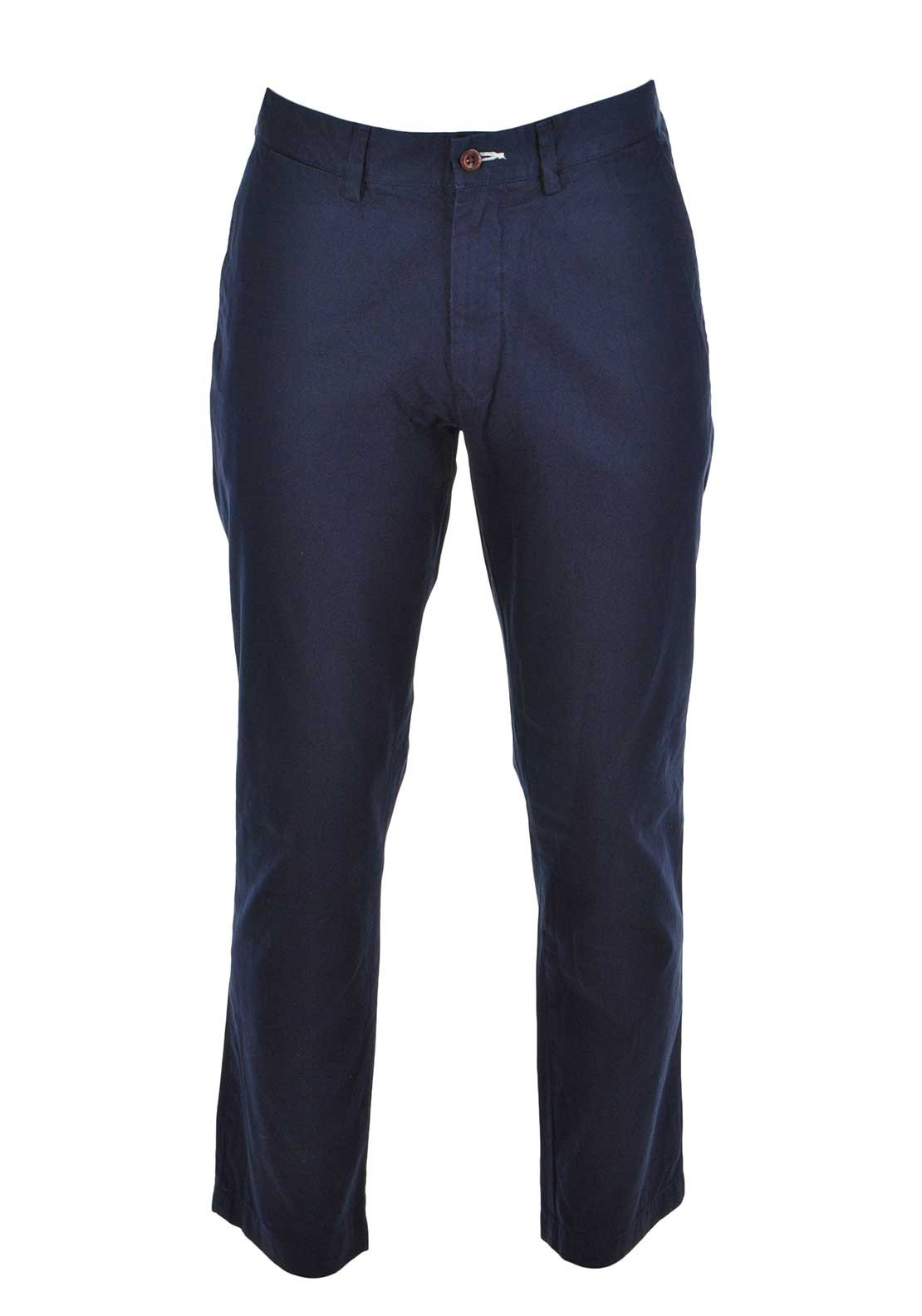 GANT Mens Regular Fit Cotton Chinos, Navy