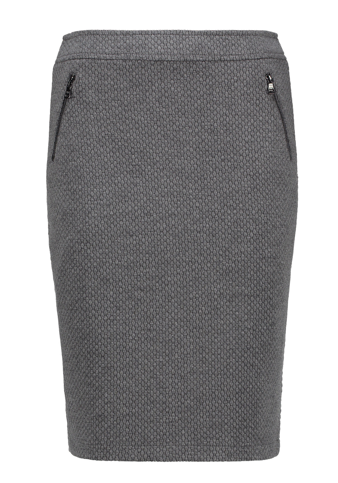 Gerry Weber Honeycomb Print Jersey Pencil Skirt, Grey