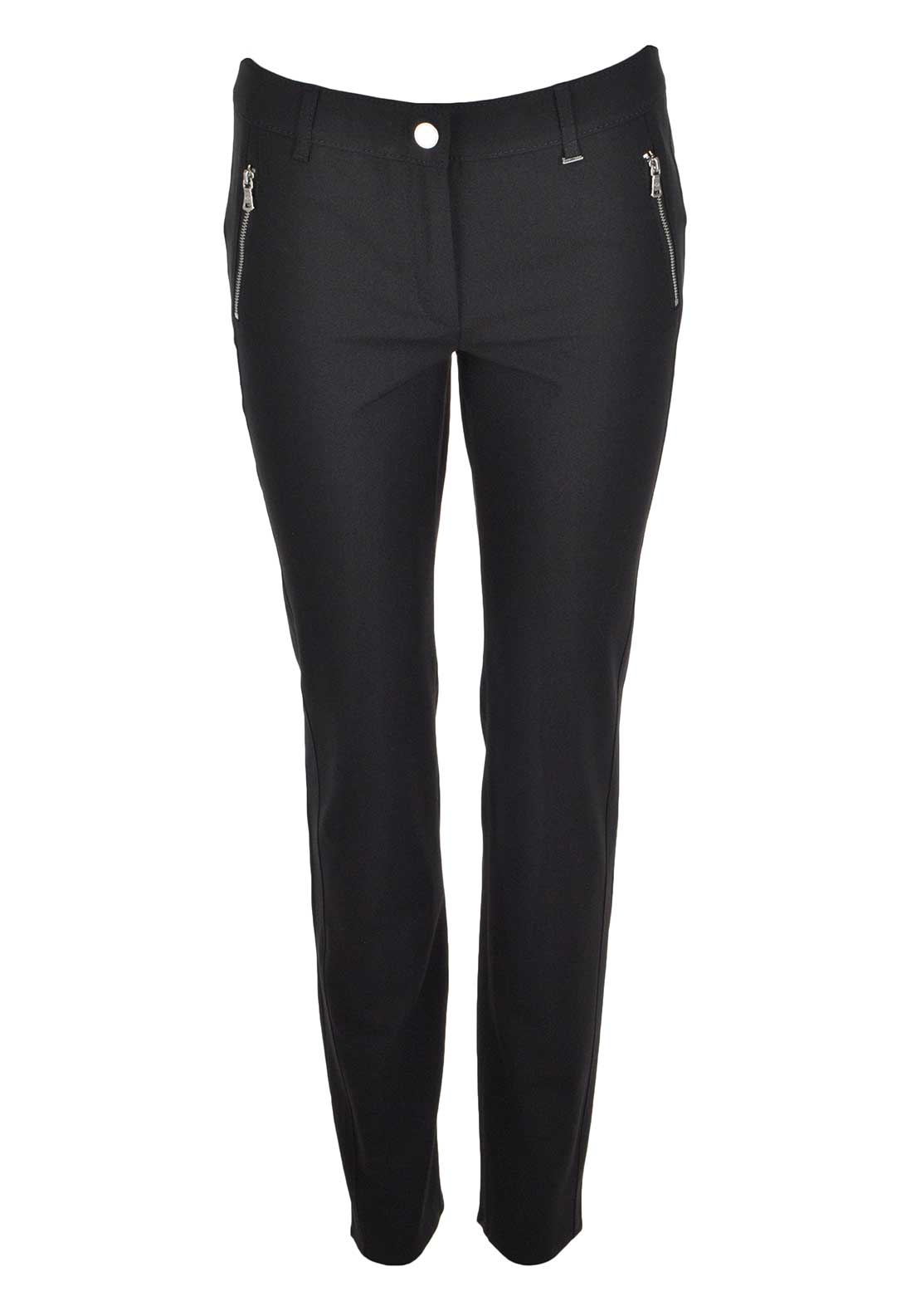 Gerry Weber Zipped Trouser, Black
