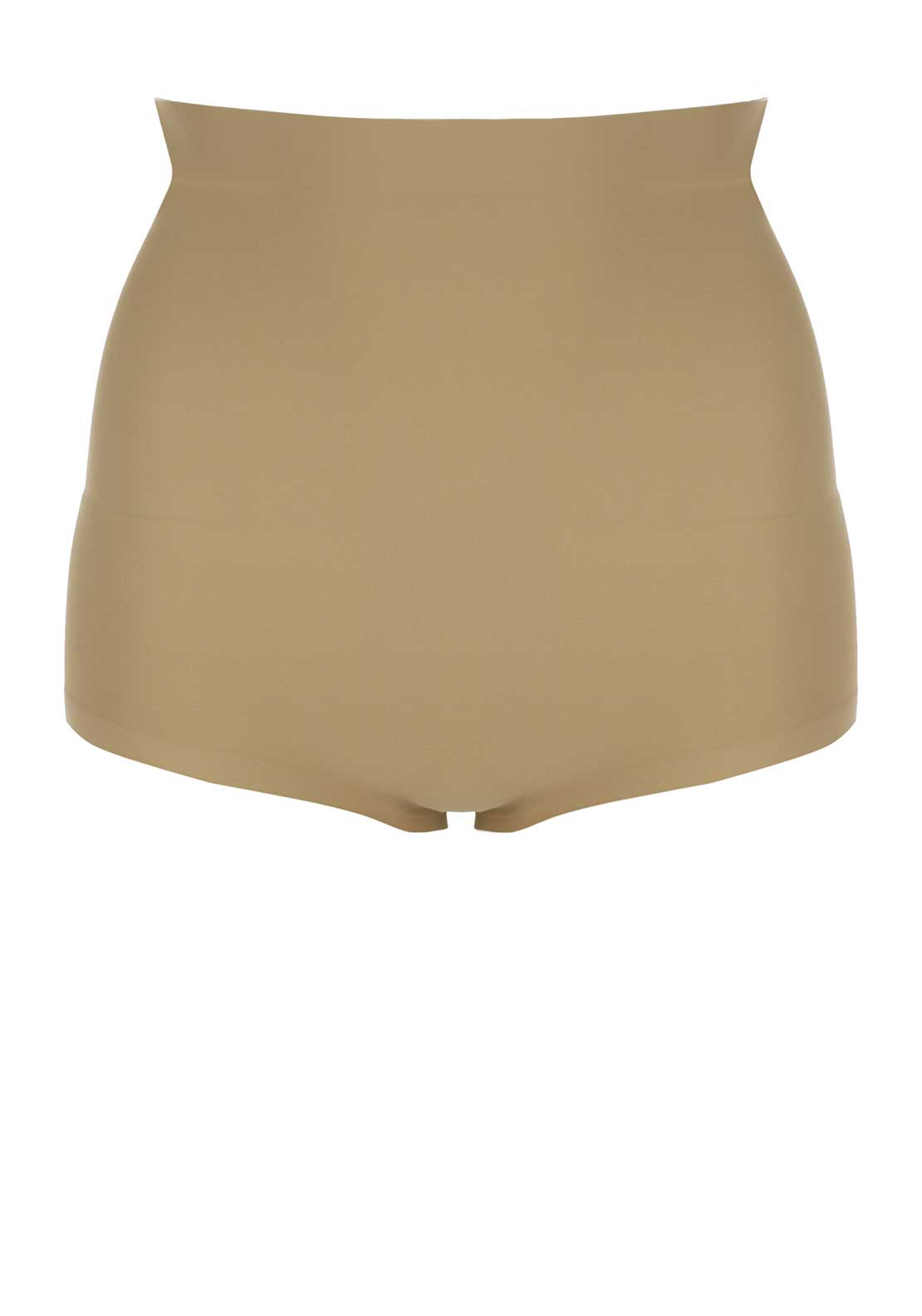 By Wishes Foam Padded High Waist Briefs, Nude
