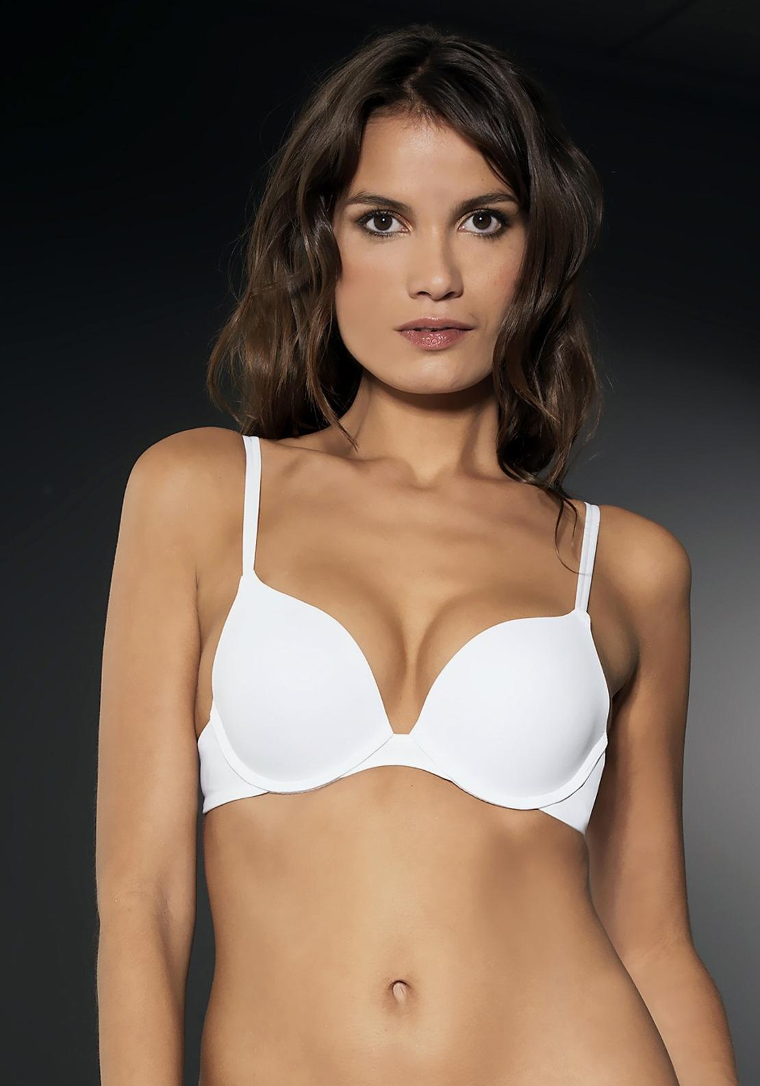 After Eden Single Boost Bra, White
