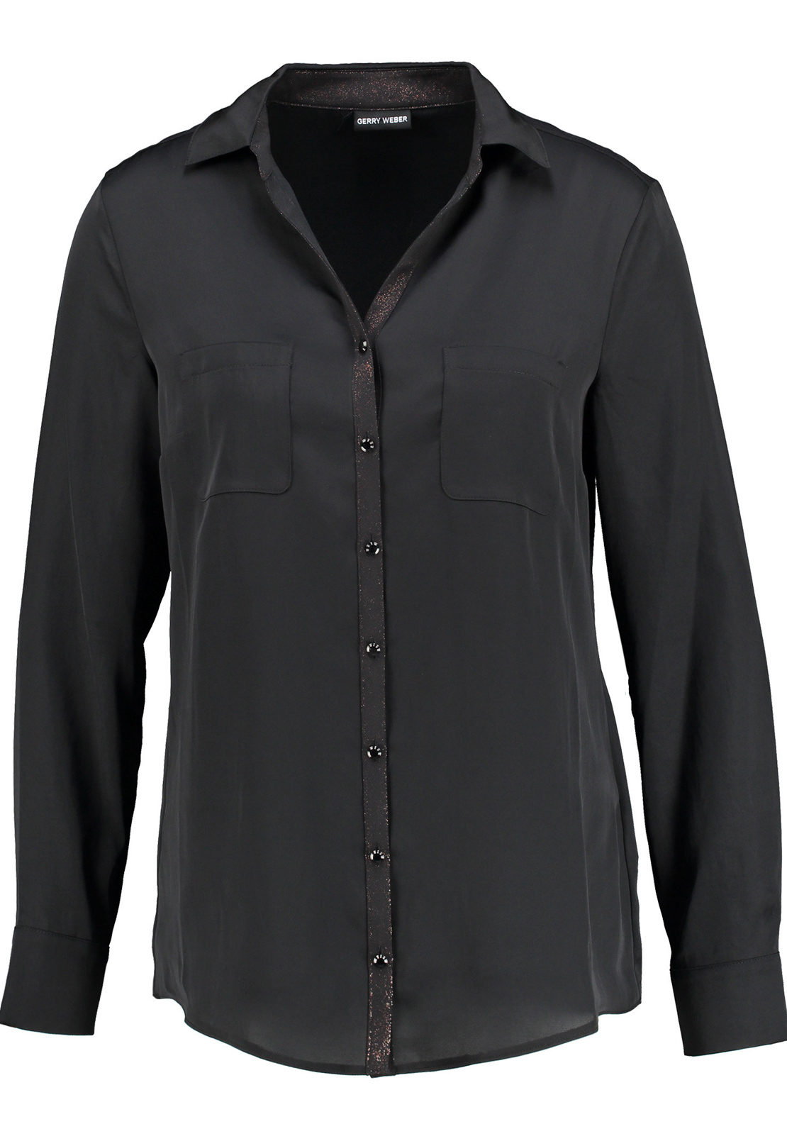 Gerry Weber Classic Long Sleeve Blouse, Black