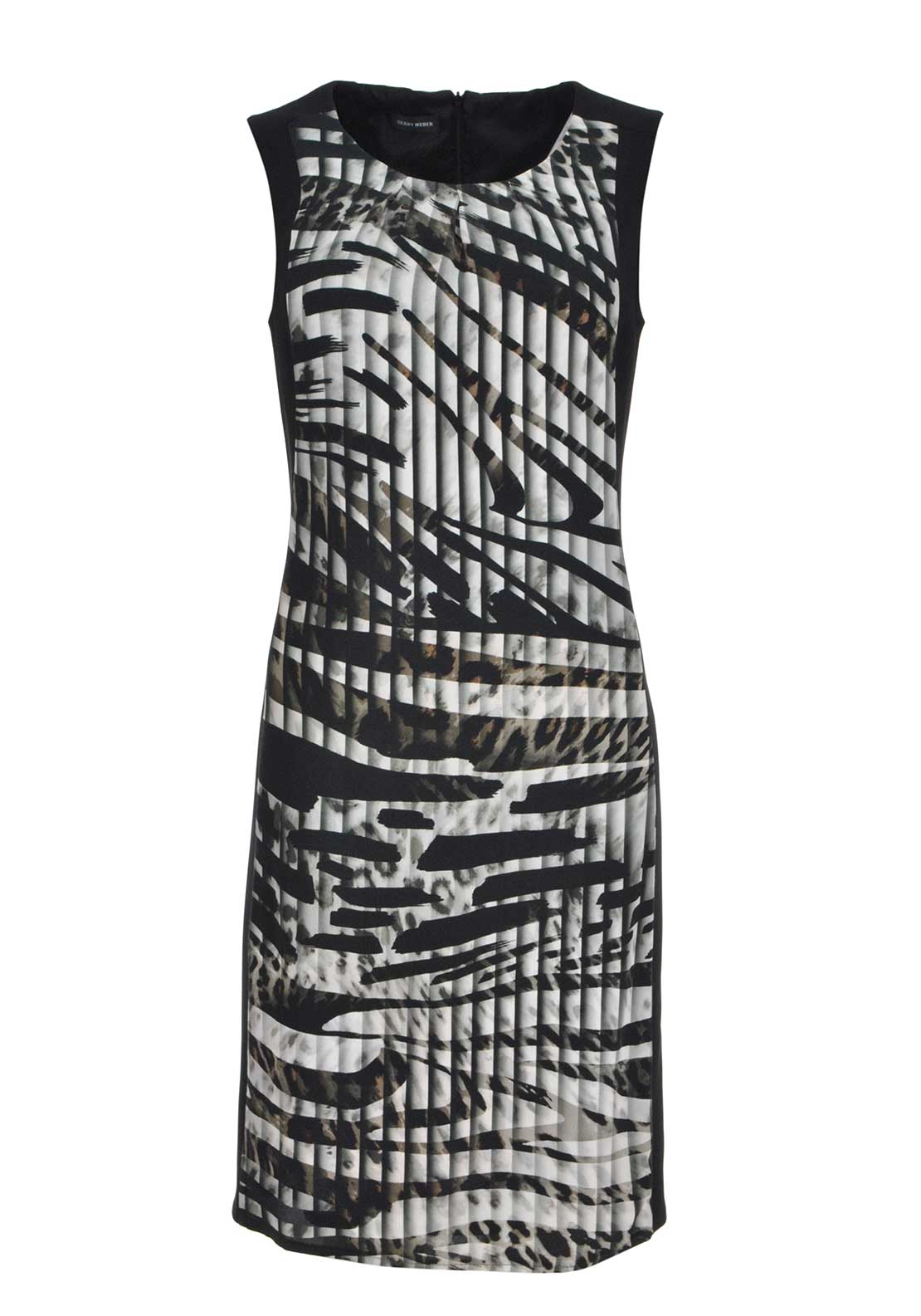 Gerry Weber Sleeveless Print Dress, Multi-Coloured