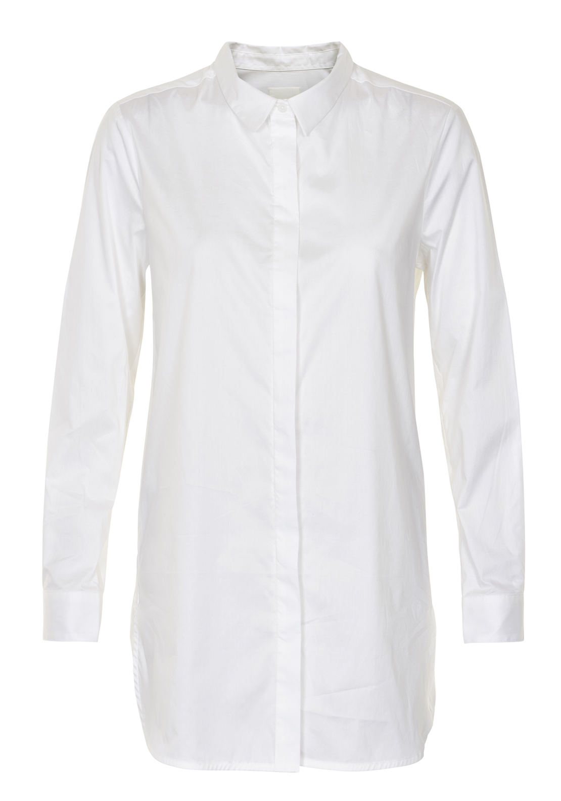 Inwear Ninette Long Length Classic Blouse, White