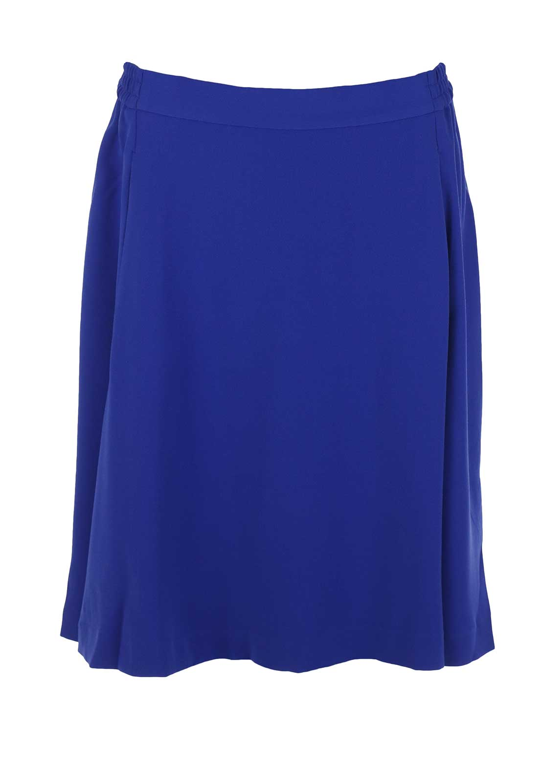 Inwear Fit and Flared Skater Skirt, Blue