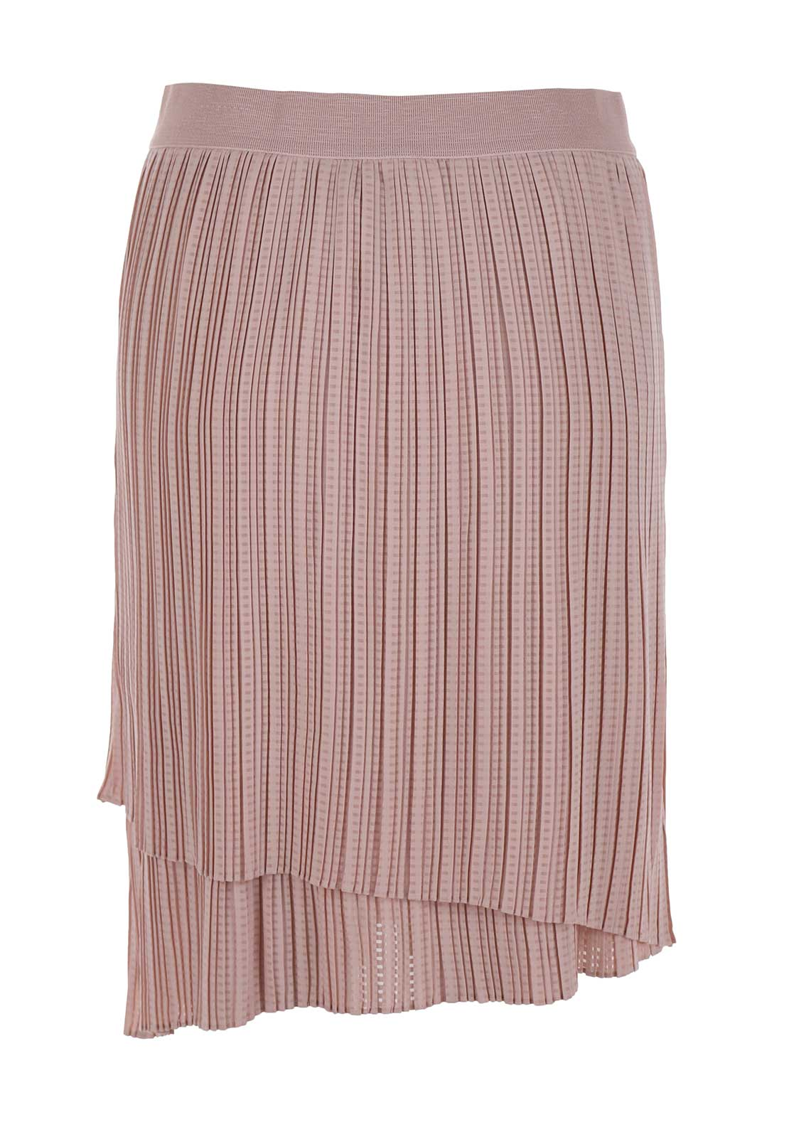 Inwear Pleated Flared Skirt, Pink