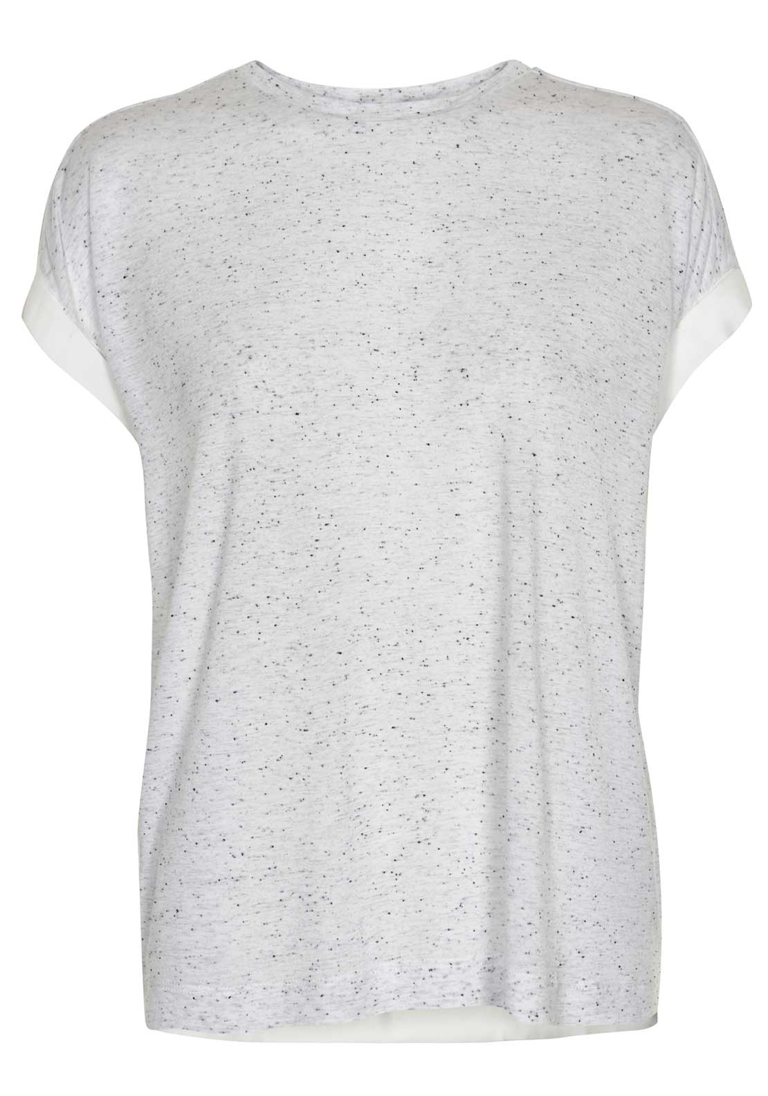 Inwear Noma Speckled Print Cap Sleeve Top, Off White